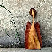 Народные сувениры ручной работы. Ярмарка Мастеров - ручная работа Ангел. Мечты должны сбываться! Фигурка из дерева.. Handmade.