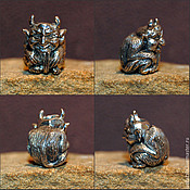 Материалы для творчества handmade. Livemaster - original item Chort charm. Handmade.