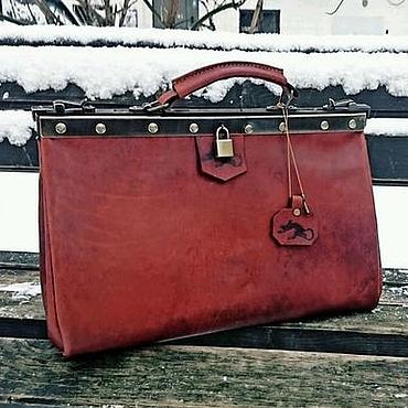 277e45bf0caf Великолепный саквояж, вместительная мужская сумка, натуральная кожа