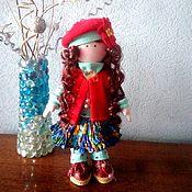 Большеножка ручной работы. Ярмарка Мастеров - ручная работа Большеножка: Текстильная кукла. Handmade.