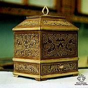 Для дома и интерьера handmade. Livemaster - original item Casket wooden Lace. Handmade.