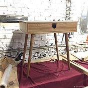Столы ручной работы. Ярмарка Мастеров - ручная работа Письменный стол из дуба Solo v1. Handmade.