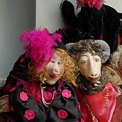 Куклы и игрушки ручной работы. Ярмарка Мастеров - ручная работа Глафира, Филлимон и Лиза. Handmade.