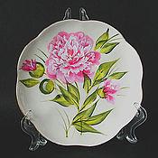Посуда handmade. Livemaster - original item A couple of tea with painting