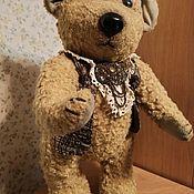 Мишки Тедди ручной работы. Ярмарка Мастеров - ручная работа Медведь Тедди большой. Handmade.