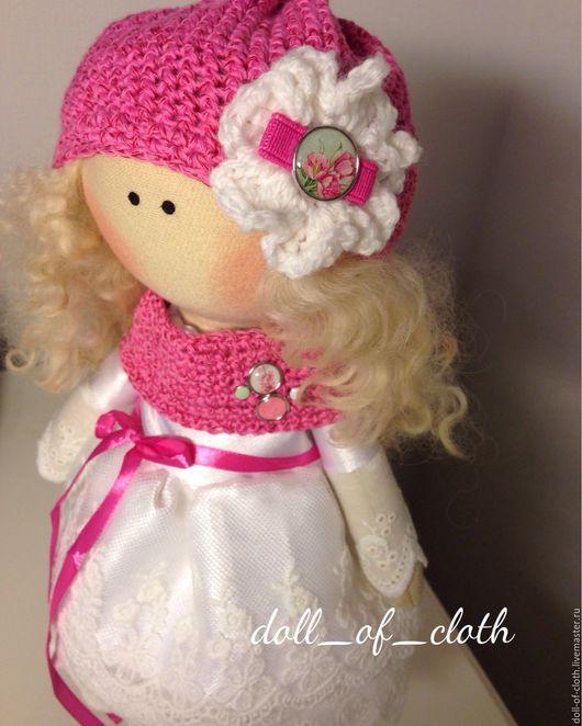 Куклы тыквоголовки ручной работы. Ярмарка Мастеров - ручная работа. Купить Интерьерная кукла. Весенняя. Handmade. Кукла, подарок, тильда
