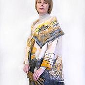 """Одежда ручной работы. Ярмарка Мастеров - ручная работа Пальто-трансформер """"Японика"""".. Handmade."""