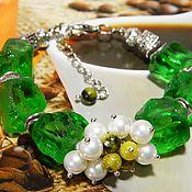 Bead bracelet handmade. Livemaster - original item BRACELET QUARTZ