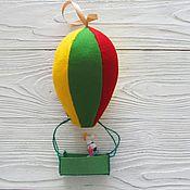 Для дома и интерьера ручной работы. Ярмарка Мастеров - ручная работа Воздушный шар из фетра. Handmade.