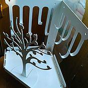 """Материалы для творчества ручной работы. Ярмарка Мастеров - ручная работа Полка-вешалка для украшений """"White tree"""". Handmade."""