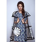 Одежда ручной работы. Ярмарка Мастеров - ручная работа Дождевик прозрачный. Handmade.