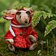 Мишки Тедди ручной работы. красная сказка. Настёна Никитина. Ярмарка Мастеров. Сказка, опилки древесные, шерсть 100%