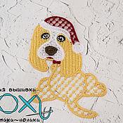 Подарки к праздникам handmade. Livemaster - original item dog. Christmas decorations.Symbol 2018.. Handmade.