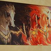 Картины и панно ручной работы. Ярмарка Мастеров - ручная работа Четыре стихии. Handmade.