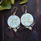 Украшения handmade. Livemaster - original item Boho earrings