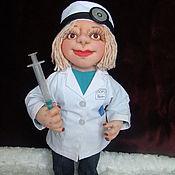 Куклы и игрушки ручной работы. Ярмарка Мастеров - ручная работа Лор врач. Handmade.