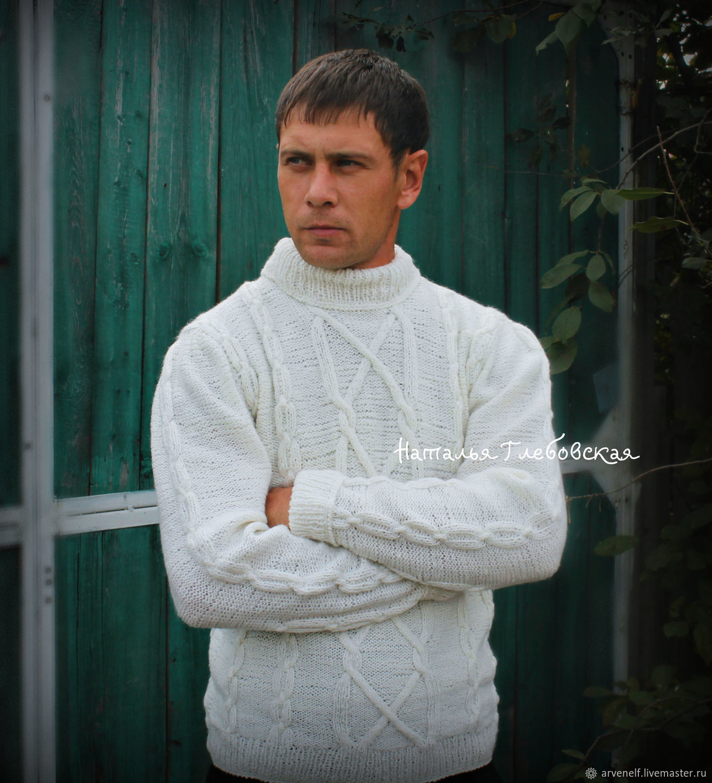 Men's sweater 'tor', Mens sweaters, Orenburg,  Фото №1