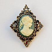 Винтаж handmade. Livemaster - original item Cameo brooch from Gerrys. Handmade.