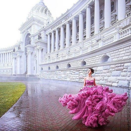 Платья ручной работы. Ярмарка Мастеров - ручная работа. Купить платье облако. Handmade. Платье облако, вечернее платье в пол