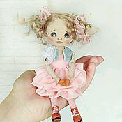 Куклы и пупсы ручной работы. Ярмарка Мастеров - ручная работа Куколка текстильная. Handmade.