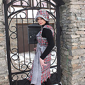 "Одежда ручной работы. Ярмарка Мастеров - ручная работа Сарафан валяный ""Стелла"". Handmade."
