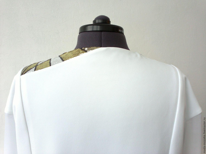 Пуловер с отделкой бижутерией, 10% laine