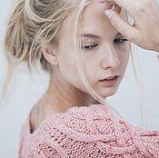 Одежда ручной работы. Ярмарка Мастеров - ручная работа Джемпер Pink Maelstrom. Handmade.