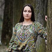 Одежда ручной работы. Ярмарка Мастеров - ручная работа Платье  Веринея из  ППП. Handmade.