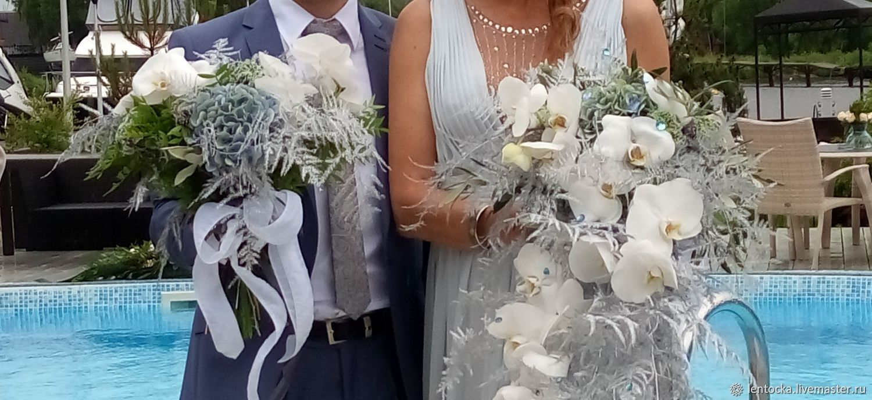 Цветы для молодоженов от родителей жениха