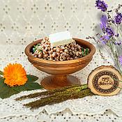 Посуда handmade. Livemaster - original item Wooden Bowl - drinking bowl from the Siberian Elm for healthy food #V6. Handmade.