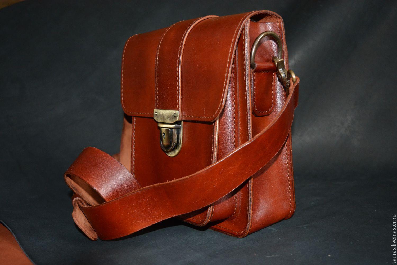 f8c166373ff1 Мужские сумки ручной работы. Ярмарка Мастеров - ручная работа. Купить  Мужская сумка 23х19 см ...