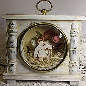 Сувениры и подарки ручной работы. Ярмарка Мастеров - ручная работа фоторамка из часов. Handmade.