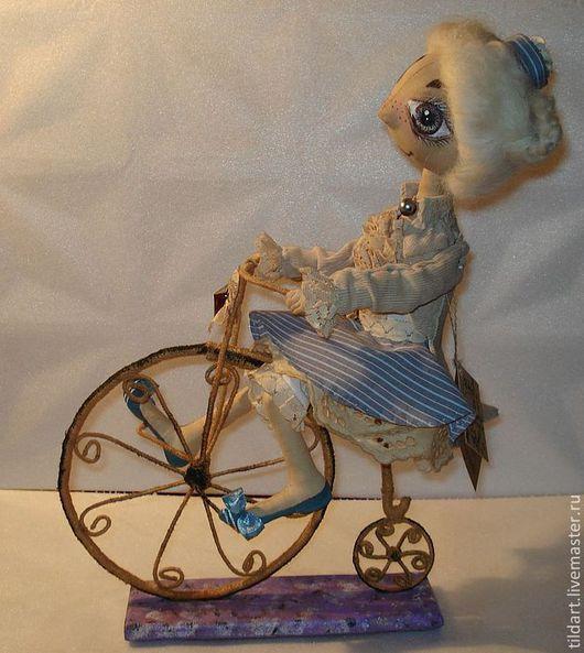 """Куклы тыквоголовки ручной работы. Ярмарка Мастеров - ручная работа. Купить Интерьерная кукла """"Жозефина"""". Handmade. Бежевый, тыквоголовая кукла"""
