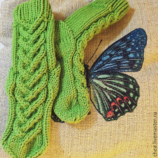 Носки, Чулки ручной работы. Ярмарка Мастеров - ручная работа. Купить Домашние носочки. Handmade. Носки, носки ручной работы