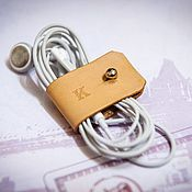 Сувениры и подарки handmade. Livemaster - original item Organizer for headphone. Handmade.