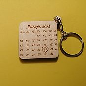 Сумки и аксессуары handmade. Livemaster - original item Wooden keychain, wooden souvenir, gift made of wood. Handmade.