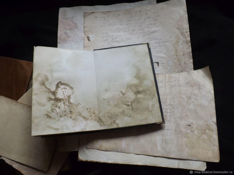 лишь сказки фотопечать на состаренной бумаге теплом