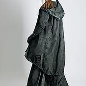 Одежда handmade. Livemaster - original item Fashionable, long cotton raincoat - VE0067CTTF. Handmade.