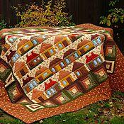 Для дома и интерьера ручной работы. Ярмарка Мастеров - ручная работа Лоскутное одеяло Home Sweet Home. Handmade.