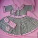 Одежда для девочек, ручной работы. платье для малышки. Татьяна Гараган (tanya-garagan). Интернет-магазин Ярмарка Мастеров. Платье летнее