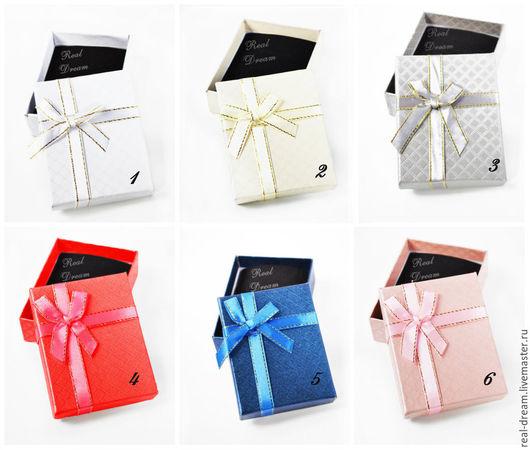Упаковка ручной работы. Ярмарка Мастеров - ручная работа. Купить Коробка подарочная 9х7 см, арт.box01. Handmade. Разноцветный