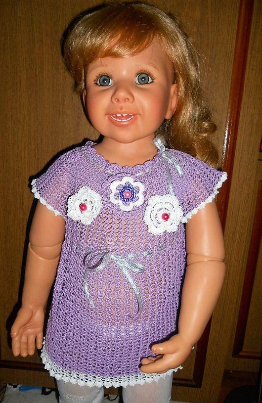 Платья ручной работы. Ярмарка Мастеров - ручная работа. Купить Детское платье, детский комплект. Handmade. Вязание крючком