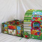 Куклы и игрушки ручной работы. Ярмарка Мастеров - ручная работа Развивающая игрушка - Прицеп для поезда. Handmade.