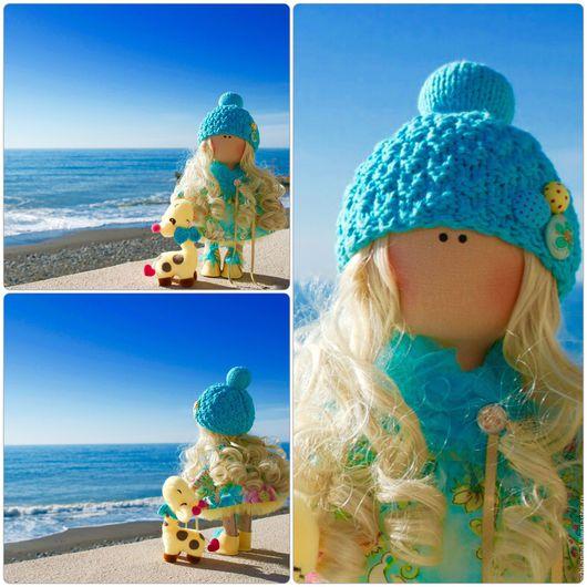 Куклы тыквоголовки ручной работы. Ярмарка Мастеров - ручная работа. Купить Итерьерная кукла. Handmade. Лимонный, интерьерная кукла