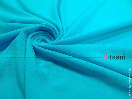001-002 Трикотаж масло тёплое(матовое) Цвет `голубой` Корея 440руб  Плотность 330г  Ширина 140см
