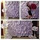 Свадебные цветы ручной работы. Пресс-волл с бумажными розами (аренда). Семенова Татьяна. Интернет-магазин Ярмарка Мастеров.