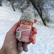 Мягкие игрушки ручной работы. Ярмарка Мастеров - ручная работа Вязаные куколки. Handmade.