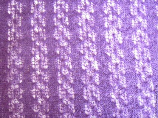 Шитье ручной работы. Ярмарка Мастеров - ручная работа. Купить Трикотажное полотно фиолетового цвета. Handmade. Тёмно-фиолетовый