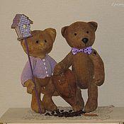 Куклы и игрушки ручной работы. Ярмарка Мастеров - ручная работа Мы с приятелем вдвоем. Handmade.