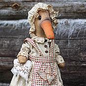 Куклы и игрушки ручной работы. Ярмарка Мастеров - ручная работа Гусыня.. Handmade.